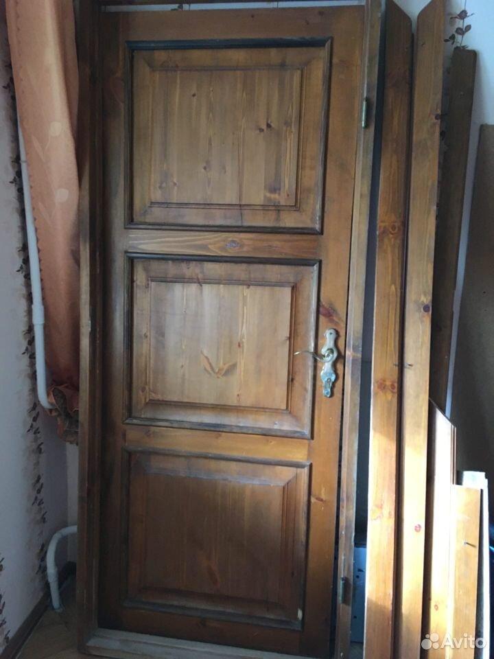 Дверь деревянная филенчатая мореная  89372752006 купить 1
