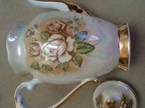 Сервиз кофейный чайная роза
