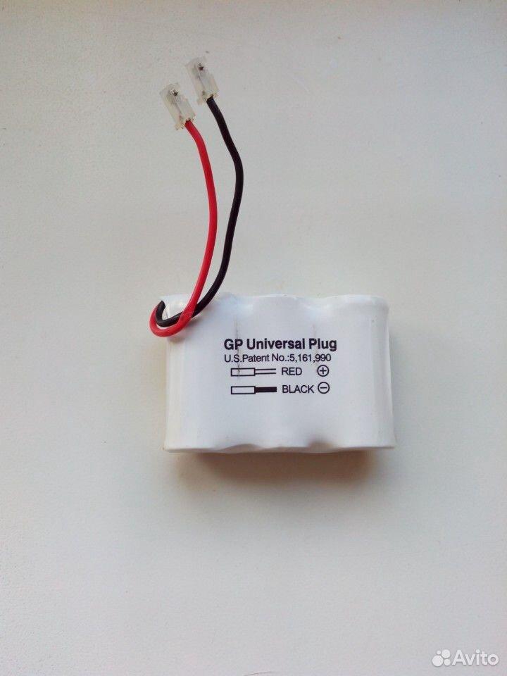 Аккамулятор GP Universal Plug Ni-CD