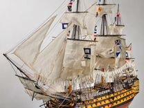 Модель корабля адмирала Нельсона - Виктори