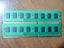 Kingston DDR3-1333 KVR1333D3N9K2/4G 2x2 всего 4Гб — Товары для компьютера в Новосибирске