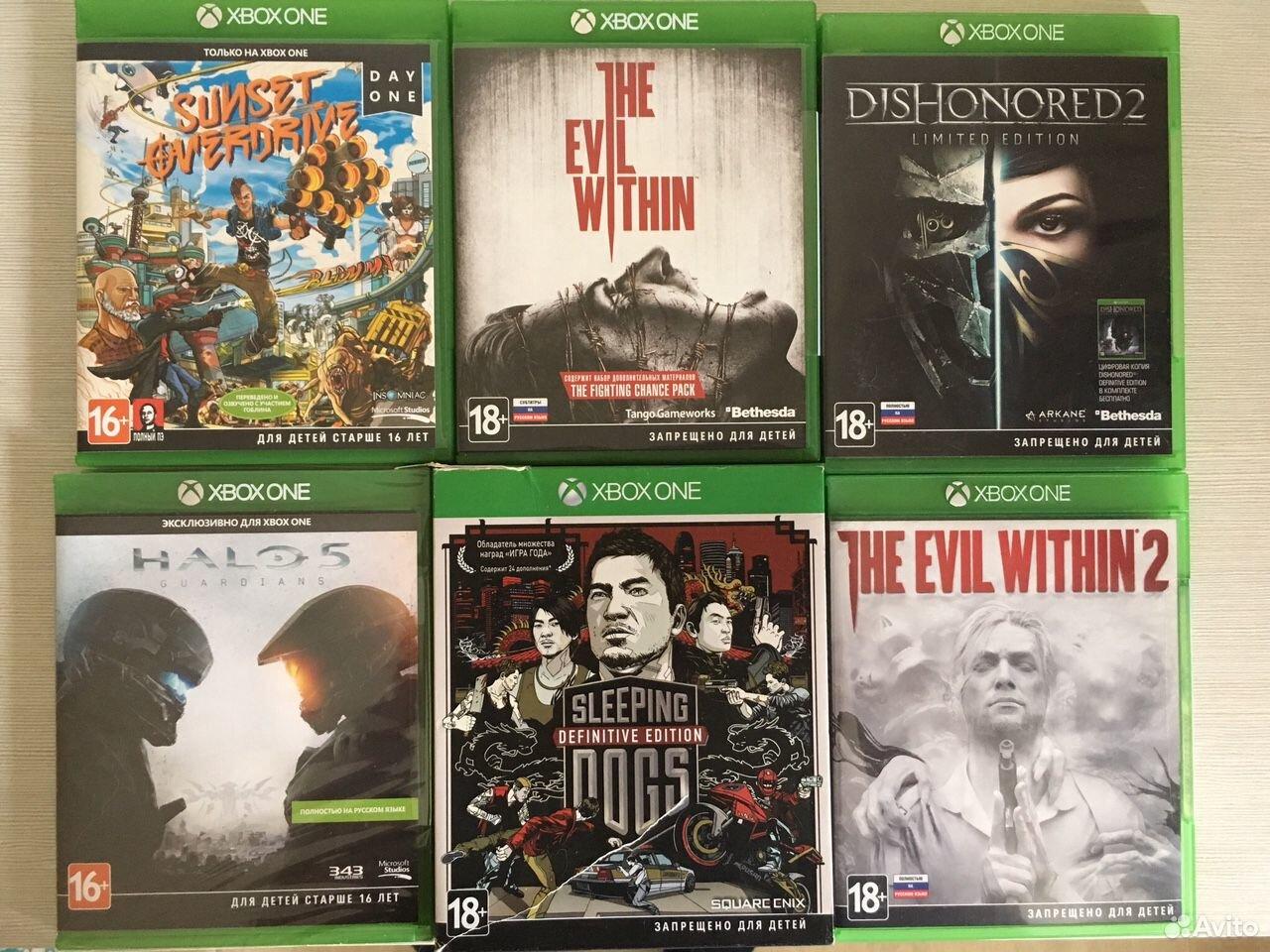 Видеоигры xbox one  89517536844 купить 1