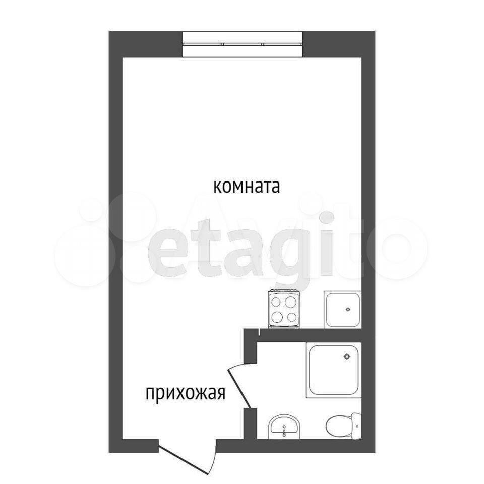 Комната 18.5 м² в 1-к, 3/5 эт.  89121704238 купить 9