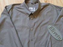 Мужская рубашка 50-52 в отличном состоянии