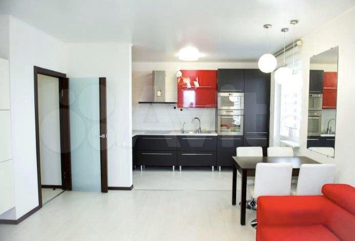 2-rums-lägenhet 60 m2, 5/9 golvet.