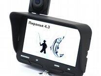 Новая камера Пиранья 4.3-2cam с записью, 2 камеры