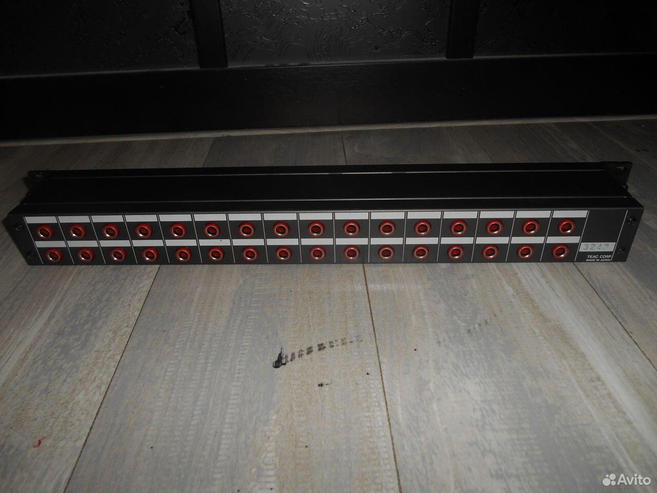 Патчбэй Tascam PB-32P  89147282024 купить 5