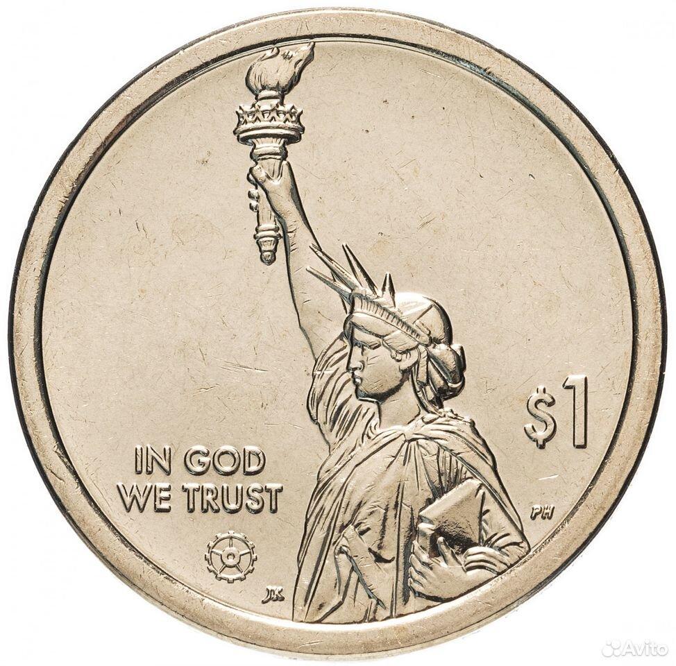 Монеты США памятные 1 доллар и 25 центов 89605390460 купить 1
